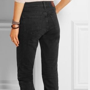 Madewell skinny high riser black denim jeans